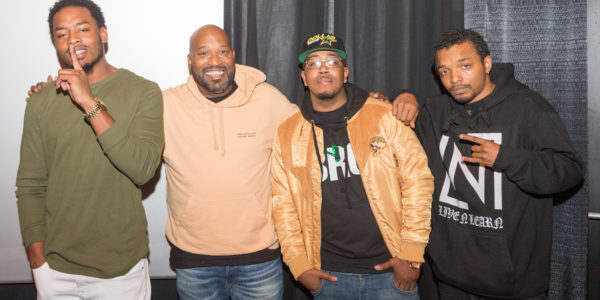 Bun B with local battle rappers