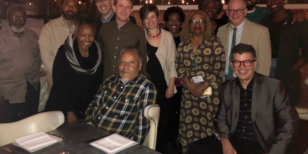 Richard Herskowitz, Barbara McCullough and others at HCAF 2017