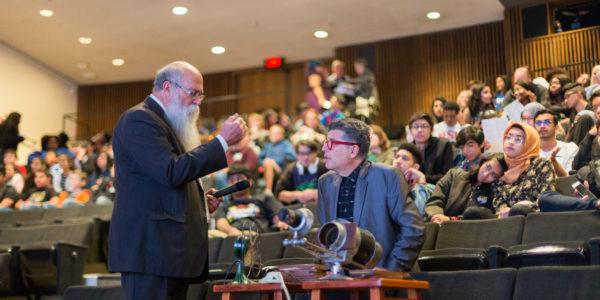 Michael Zahs and Richard Herskowitz, Saving Brinton screening